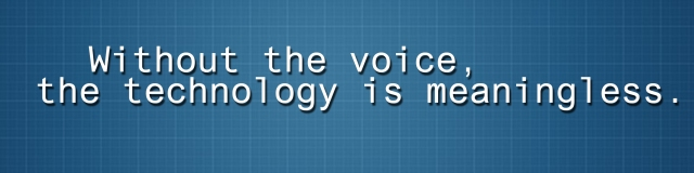 Voice and Tech